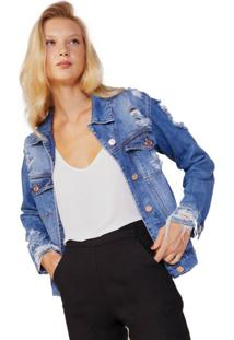Jaqueta Jeans Boyfriend