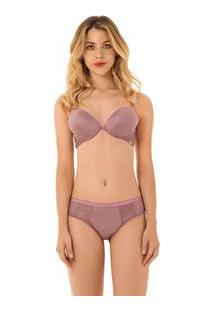 Soutien Push Up Lilas