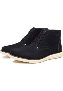 Bota Rvs Shoes Casual Couro