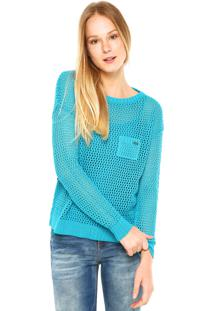 Blusa Roxy Collor Azul