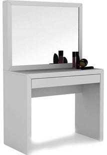 Penteadeira Com 1 Gaveta E Espelho Pe2000 - Tecno Mobili - Branco