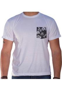Camiseta Sandro & Co. Lee Masculina - Masculino-Branco