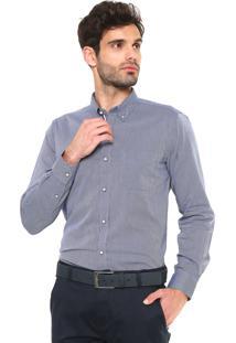 Camisa Sergio K Padronagem Azul