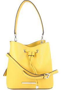 Bolsa Santa Lolla Saco Feminina - Feminino-Amarelo