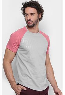 Camiseta Oakley Especial Mod Lk Series Raglan Masculina - Masculino