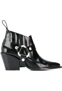 Zadig&Voltaire Bota Fashion Show N'Dricks Glossy - Preto