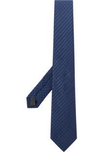 Lanvin Gravata Com Poás - Azul