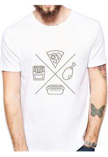 Camiseta Coolest Junk Food Masculina - Masculino