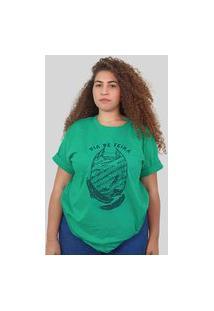 Camiseta Quimera Frágil Verde