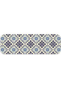 Passadeira Love Decor Premium Ladrilho Blue Único