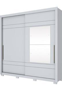 Guarda-Roupa 2 Portas Henn Delicato D208-05 Branco Se