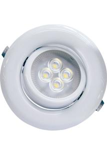 Spot Sp14 Led Gu10 3000K Autovolt Movel - Taschibra - Branco