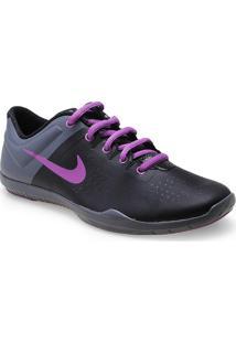 1d8a30498b ... Tenis Fem Nike 616057-007 Studio Traine Preto Chumbo Lilas