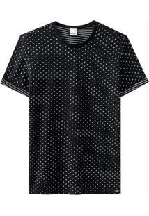 Camiseta Preto Malwee