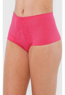 Calcinha Dilady Hot Pant Modeladora Pink