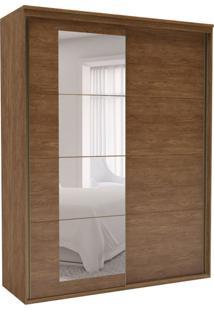 Guarda-Roupa Solteiro Eleganza Com Espelho 2 Pt 3 Gv Álamo