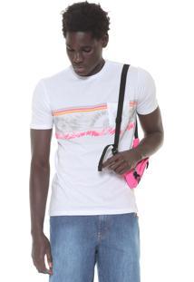 Camiseta Nicoboco Slim Hillsbo Branca
