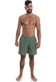 Shorts Areia Branca Resort Sea Icon Verde