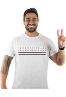 Camiseta Zé Carretilha São Tricolor Tapinha Masculina - Masculino