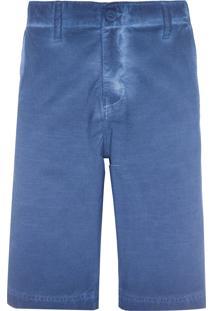 Bermuda Masculina Color Five Pockets - Azul