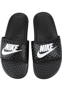 1ffd8bea252 ... Chinelo Nike Benassi Jdi Slide Feminina - Feminino-Preto+Branco