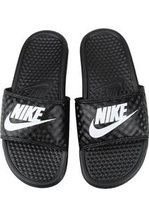 Chinelo Nike Benassi Jdi Slide Feminino Feminino Pretobranco