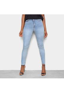 Calça Jeans John John Skinny Lavada Feminina - Feminino