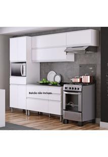 Cozinha Compacta 3 Peças Sem Balcão Belíssima Plus Itatiaia Não Acompanha Balcão Branco