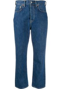 Acne Studios Calça Jeans Mece Dark Blue Trash - Azul