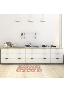 Tapete De Cozinha Mdecore Lhama Marrom 40X60Cm
