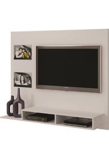 Painel Hades Para Tv Até 46´´ Valdemóveis -Branco Fosco