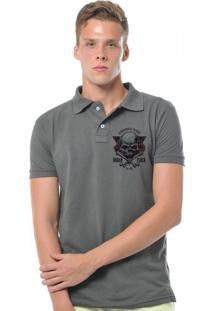 Camisa Polo Joss Urban Flock Chumbo