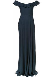 Reformation Vestido Verbena - Azul