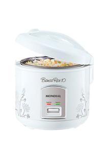 Panela Elétrica De Arroz Mondial Bianca Rice 10 C/ Função Aquecer Branca