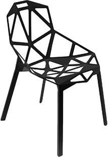 Cadeira One- Preta- 81X57X55Cm- Falkkfalkk