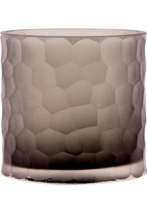 Vaso De Vidro Decorativo Charmey P - Light Grey