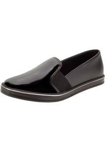 Sapato Feminino Slip On Beira Rio - 4230513 Preto 34