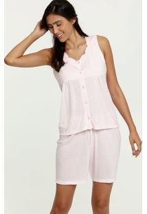 Pijama Feminino Bordado Marisa