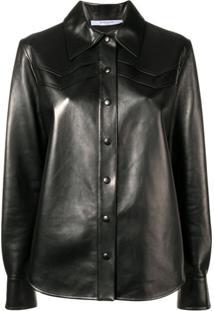 Givenchy Jaqueta Com Estilo De Camisa - Preto
