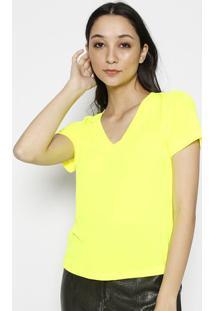 Blusa Lisa- Verde Neonla Chocolãª