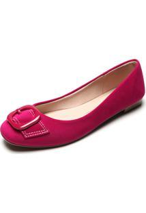 Sapatilha Moleca Fivela Pink