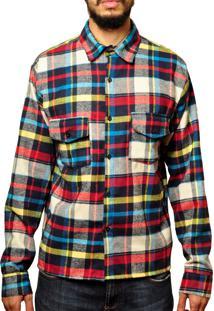 Camisa Andy Roll Flanelada Xadrez