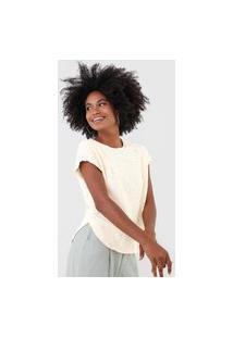 Camiseta Vero Moda Laise Off-White