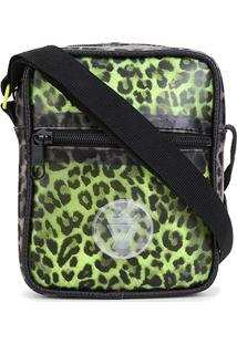 Bolsa Shoulder Bag Seven Brand Animal Print - Masculino-Verde