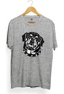 Camiseta Skill Head Rottweiler - Masculino