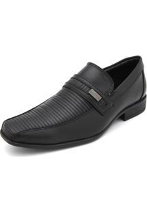 Sapato Social Mariner Textura Preto