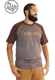 Camiseta Plus Size New York Marrom