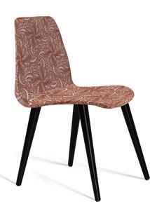 Cadeira Eames C27-Daf Mobiliário - Bege / Marsala