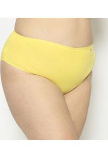 Calcinha Hot Pant Lisa- Amarela- Lupolupo