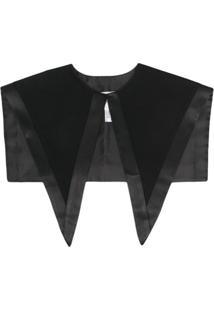 Atu Body Couture Gola Oversized Pontiaguda - Preto